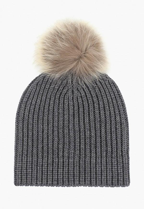 женская шапка naumi, серая