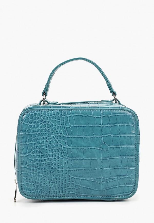 женская сумка zarina, бирюзовая