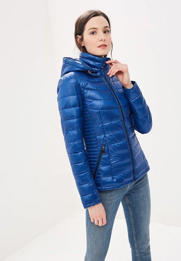 женская куртка colin's, голубая