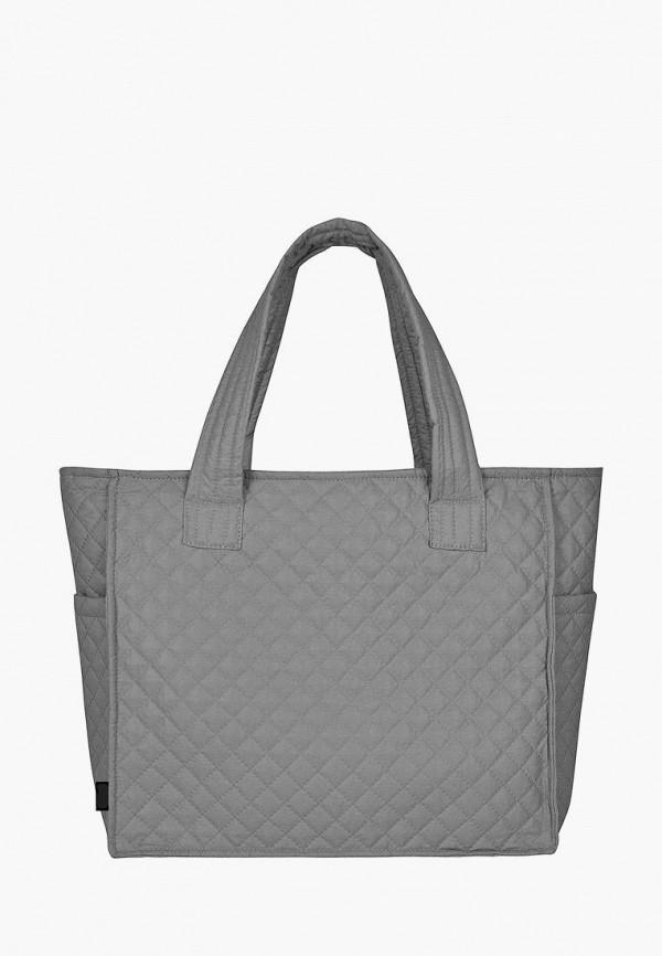 женская сумка zoe, серая