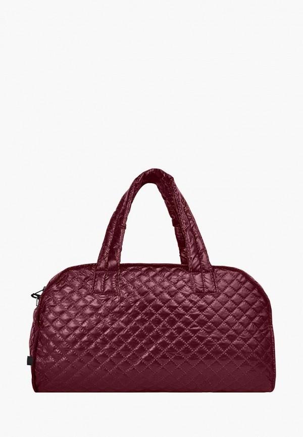 женская сумка zoe, бордовая