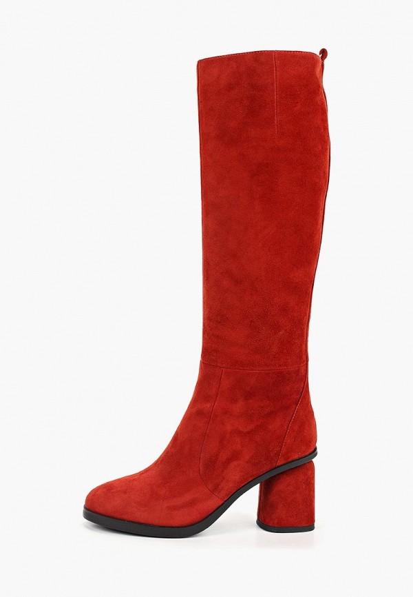 женские сапоги marie collet, красные