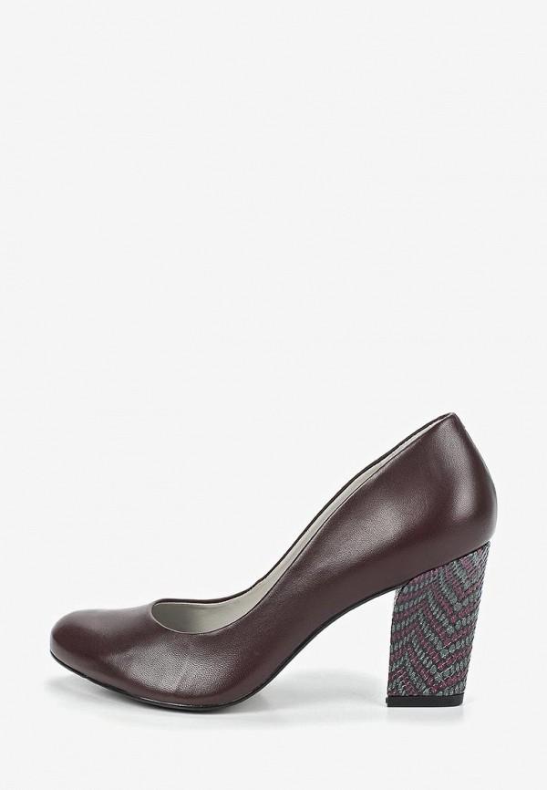 женские туфли indiana, бордовые