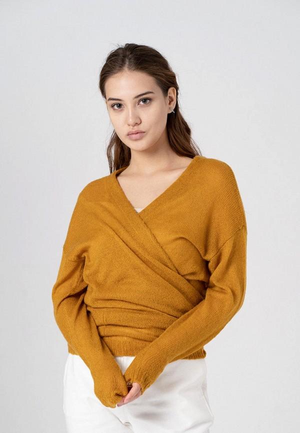 женский кардиган sana.moda, желтый