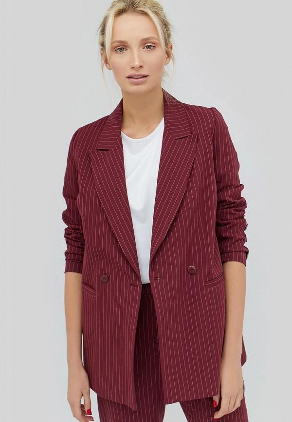 женский пиджак cardo, бордовый