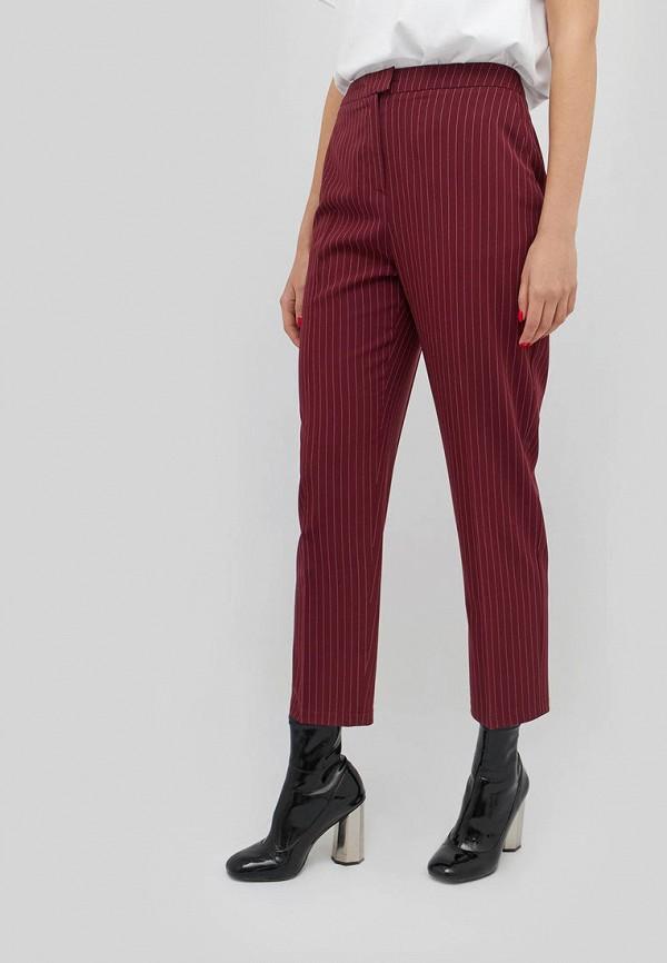 женские повседневные брюки cardo, бордовые