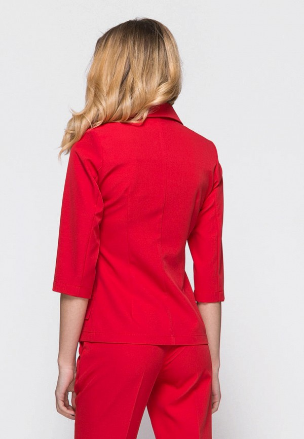 Фото 2 - женский пиджак Zubrytskaya красного цвета