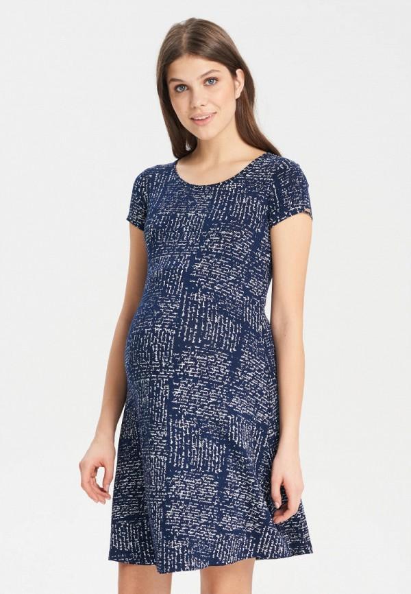 женское повседневные платье budumamoy, синее