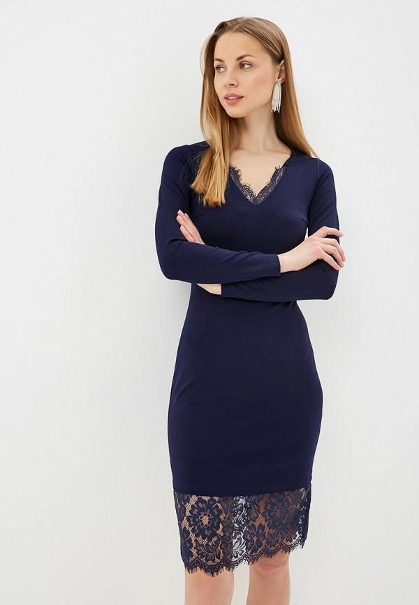 женское повседневные платье fashion.love.story, синее