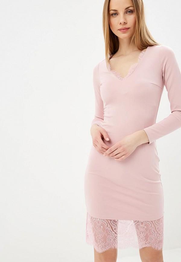 женское повседневные платье fashion.love.story, розовое