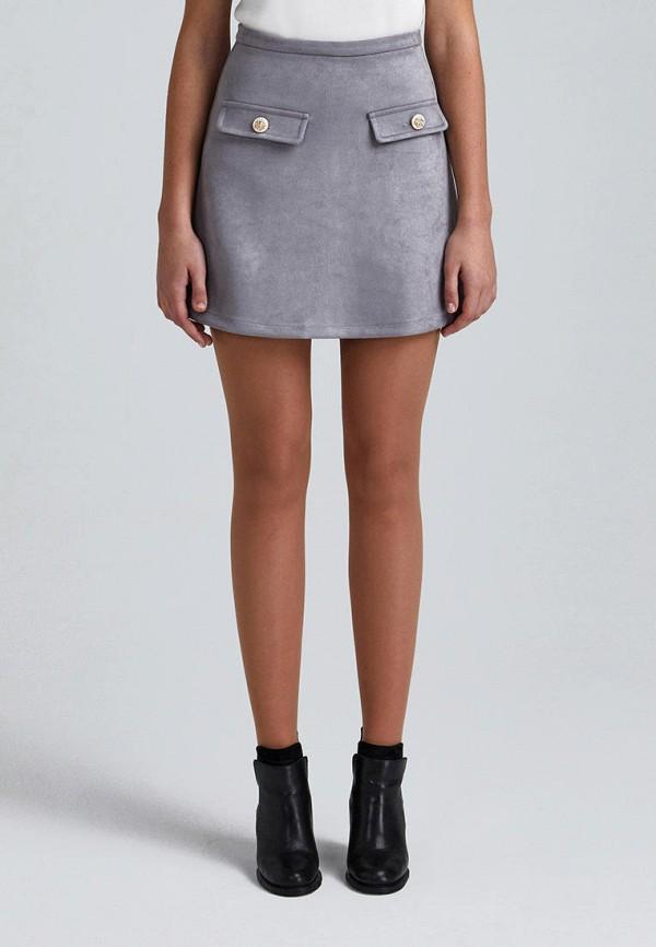 женская юбка minimally, серая