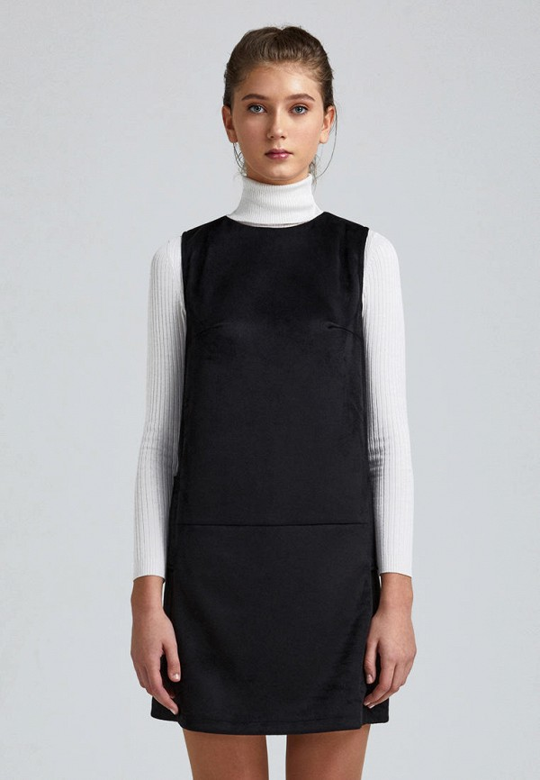 женское повседневные платье minimally, черное