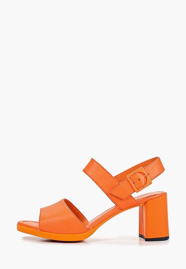 женские босоножки camper, оранжевые