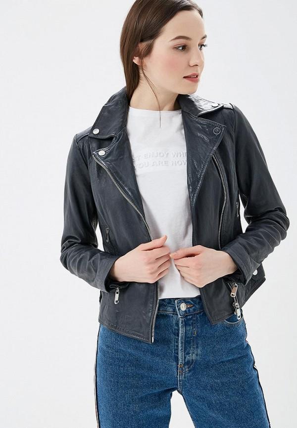 женская куртка la reine blanche, синяя