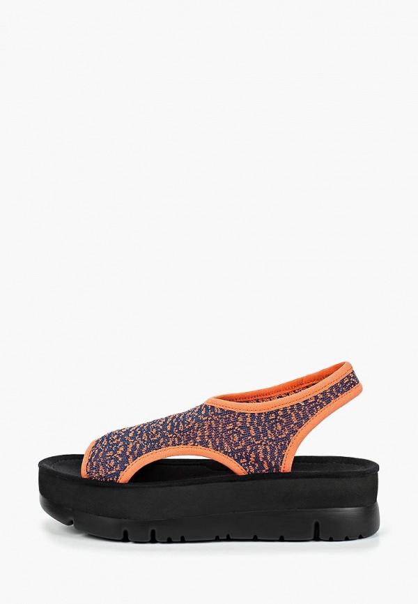 женские сандалии camper, оранжевые