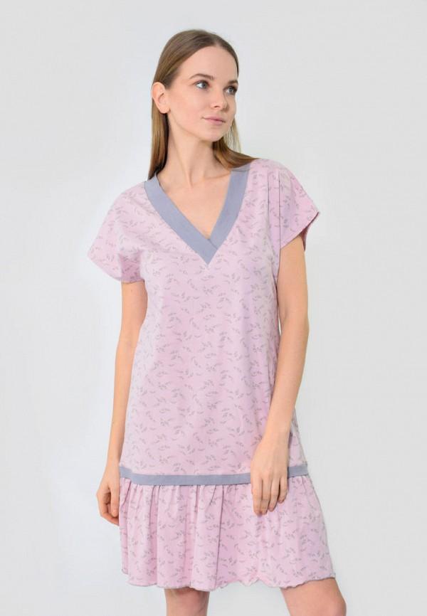 Платье домашнее N.EL, Розовый