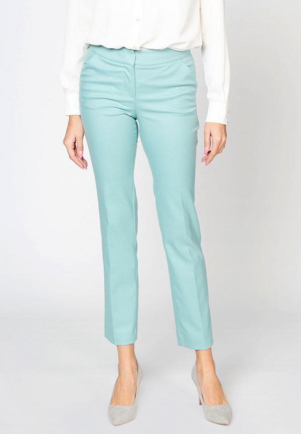 женские повседневные брюки gizia, бирюзовые