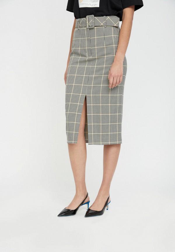 женская юбка lime, серая