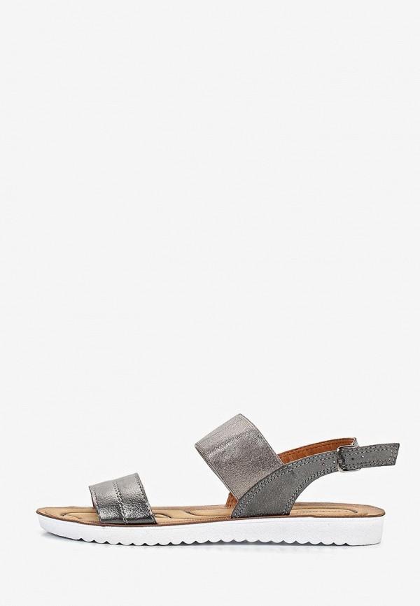 женские сандалии t.taccardi, серые