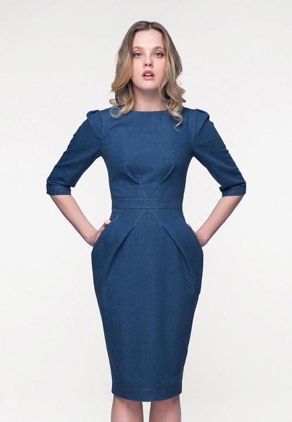 Купить Платье джинсовое Masha Mart, mp002xw1ibie, синий, Весна-лето 2019