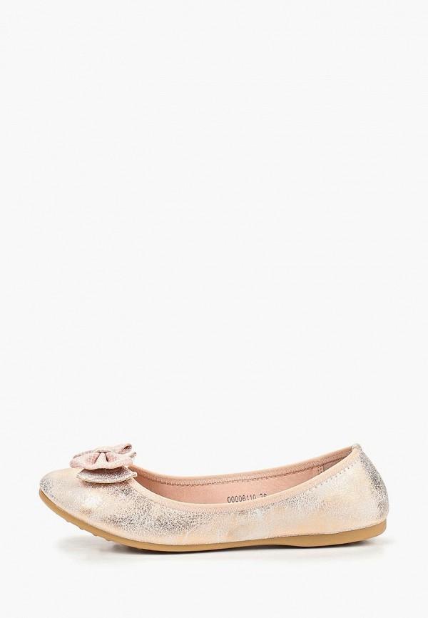 женские балетки t.taccardi, розовые