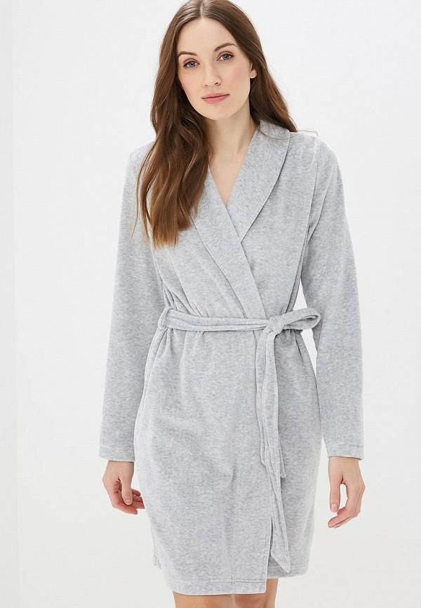 Купить Халат домашний Deseo, mp002xw1ibp7, серый, Весна-лето 2019
