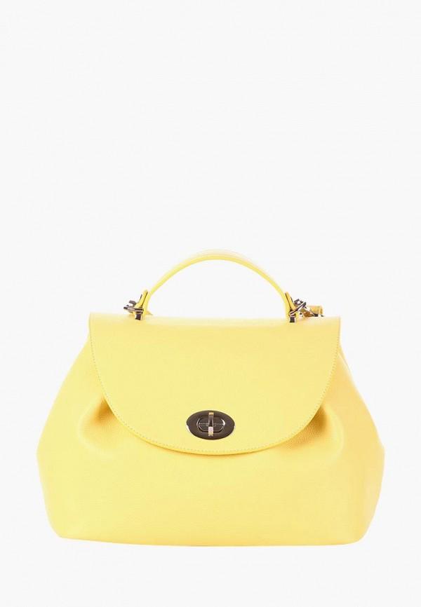 женская сумка alba soboni, желтая