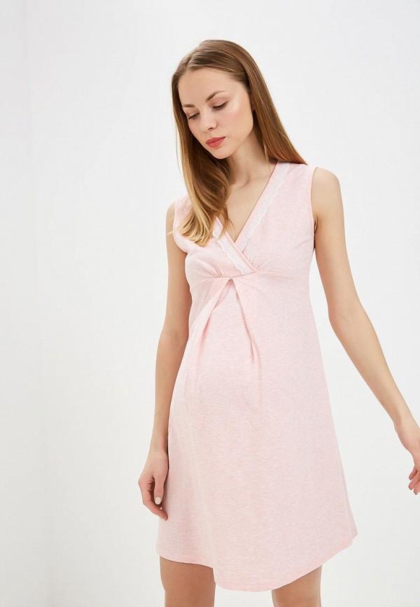 Сорочка ночная Hunny mammy Hunny mammy MP002XW1IBQI комплект для беременных и кормящих hunny mammy халат сорочка ночная цвет розовый серый 1 нмк 07720 размер 46