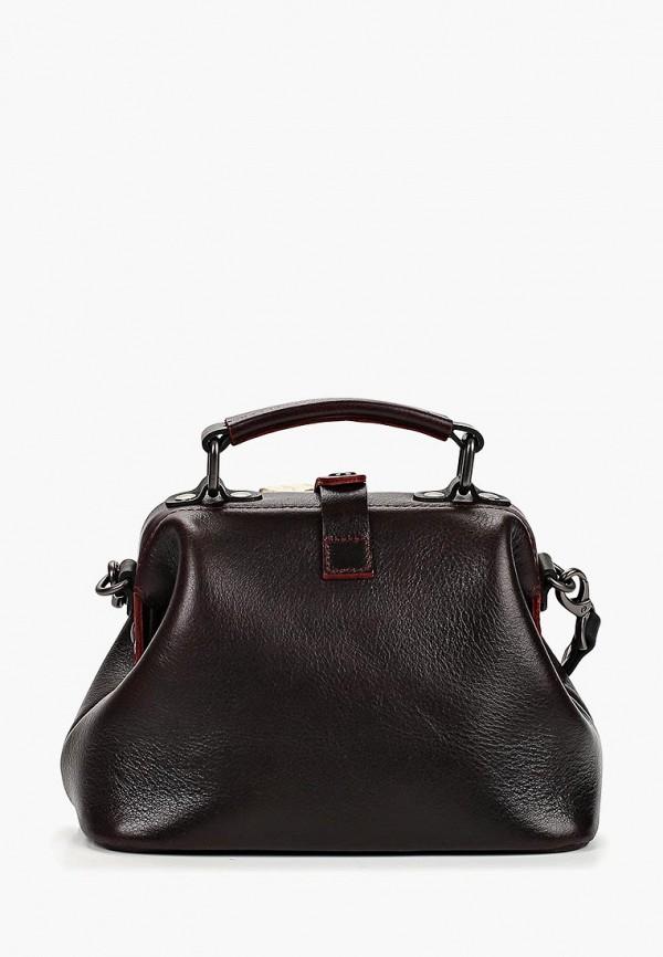 женская сумка через плечо alexander tsiselsky, бордовая