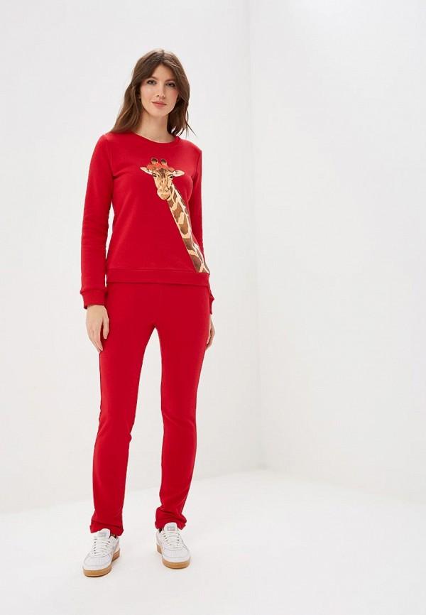 женский спортивные спортивный костюм fashion.love.story, красный
