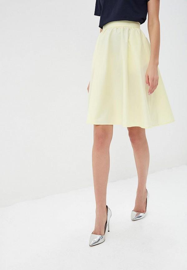 женская юбка fashion.love.story, желтая