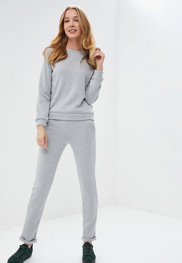 женский спортивные костюм fashion.love.story, серый