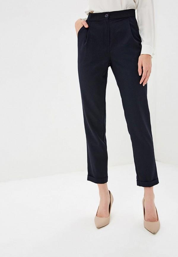 женские повседневные брюки fashion.love.story, синие