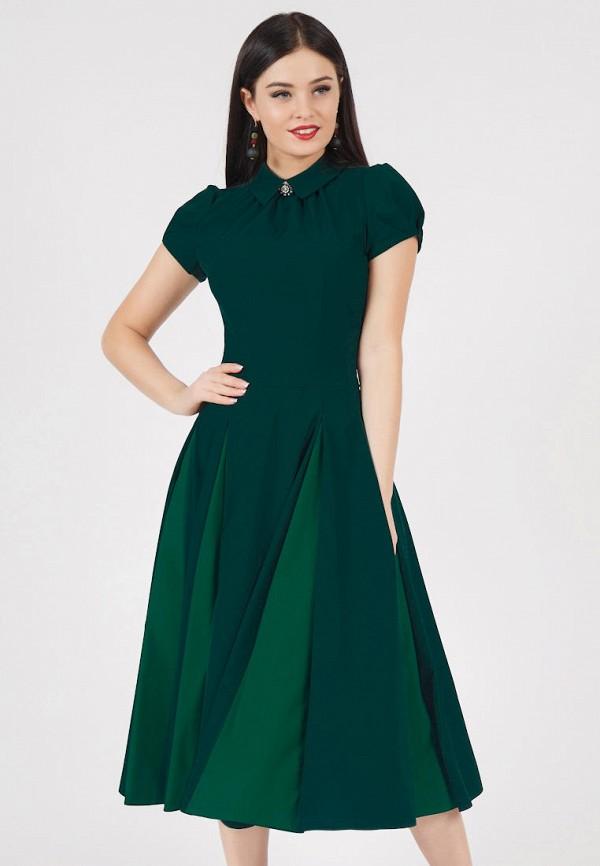 Купить Платье Grey Cat, TEYLOR, mp002xw1icbp, зеленый, Весна-лето 2019