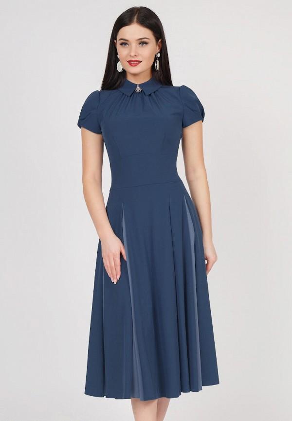Купить Платье Grey Cat, TEYLOR, mp002xw1icbq, синий, Весна-лето 2019