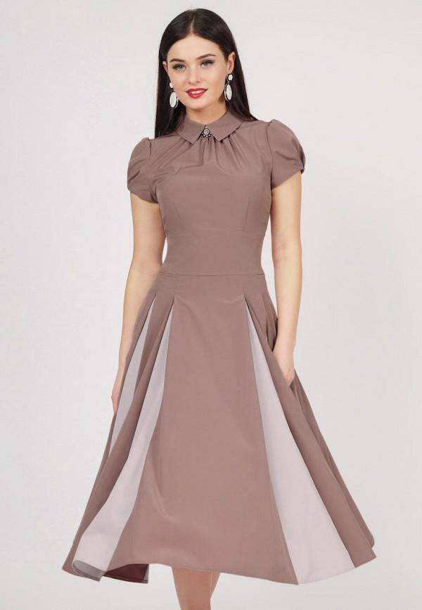 Купить Платье Grey Cat, TEYLOR, mp002xw1icbt, бежевый, Весна-лето 2019