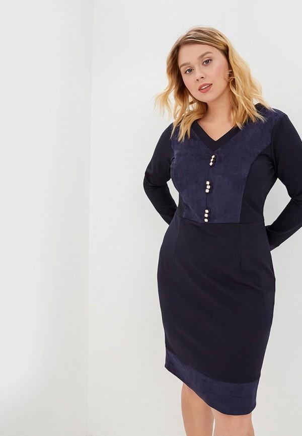 женское повседневные платье bezko, синее