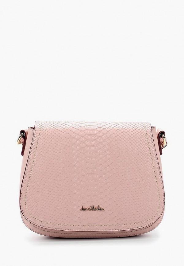 женская сумка jane shilton, розовая