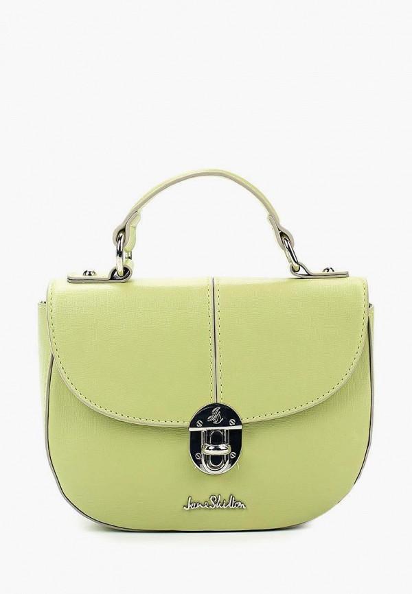 женская сумка jane shilton, зеленая