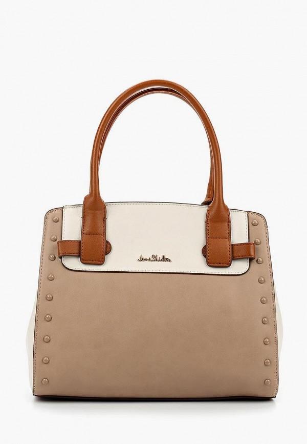 женская сумка jane shilton, коричневая