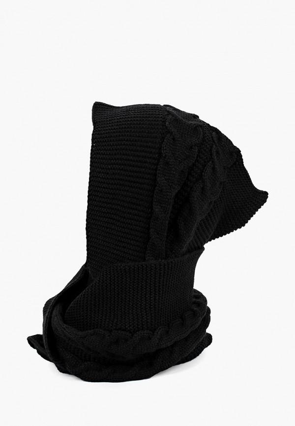 женский шарф staix, черный