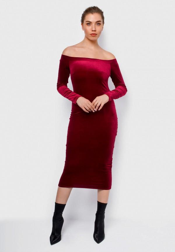 Купить Платье Malaeva, mp002xw1icxe, бордовый, Весна-лето 2019