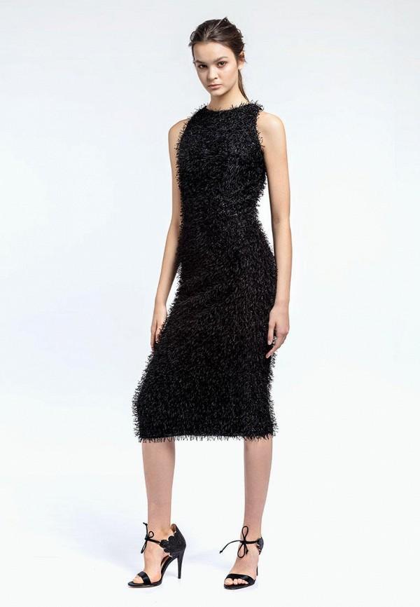 женское вечерние платье aina manasheva, черное