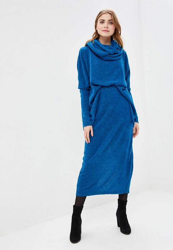 женский костюм love vita, синий