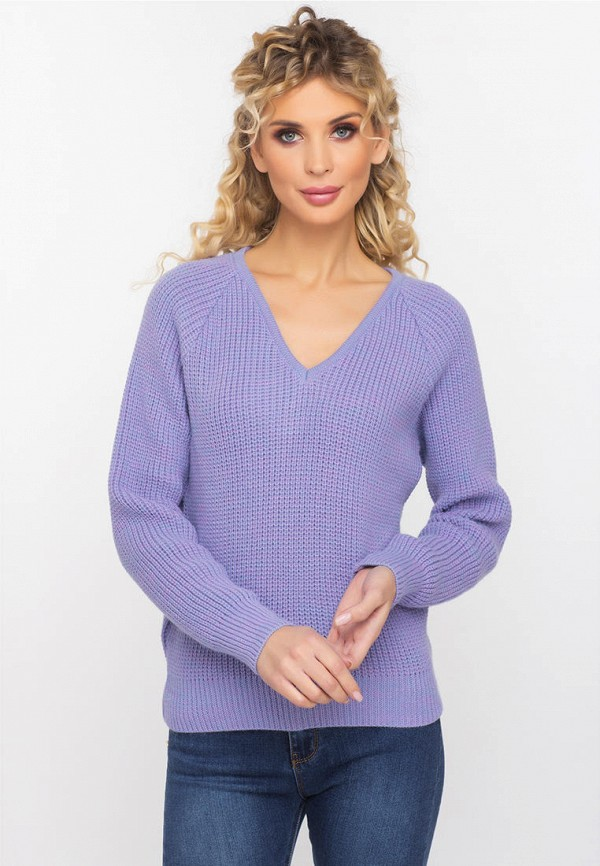 женский пуловер gloss, фиолетовый