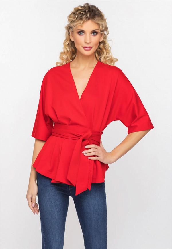 женский кардиган gloss, красный