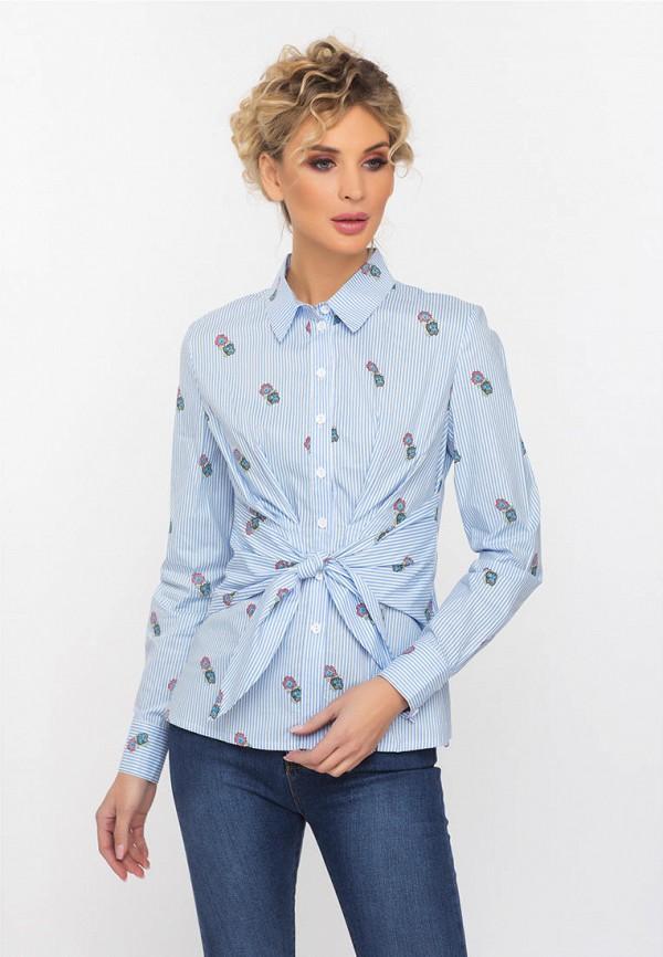 Рубашка Gloss, mp002xw1idgh, голубой, Весна-лето 2019  - купить со скидкой
