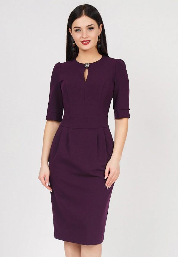 Купить Платье Grey Cat, NONNA, mp002xw1idl6, фиолетовый, Весна-лето 2019