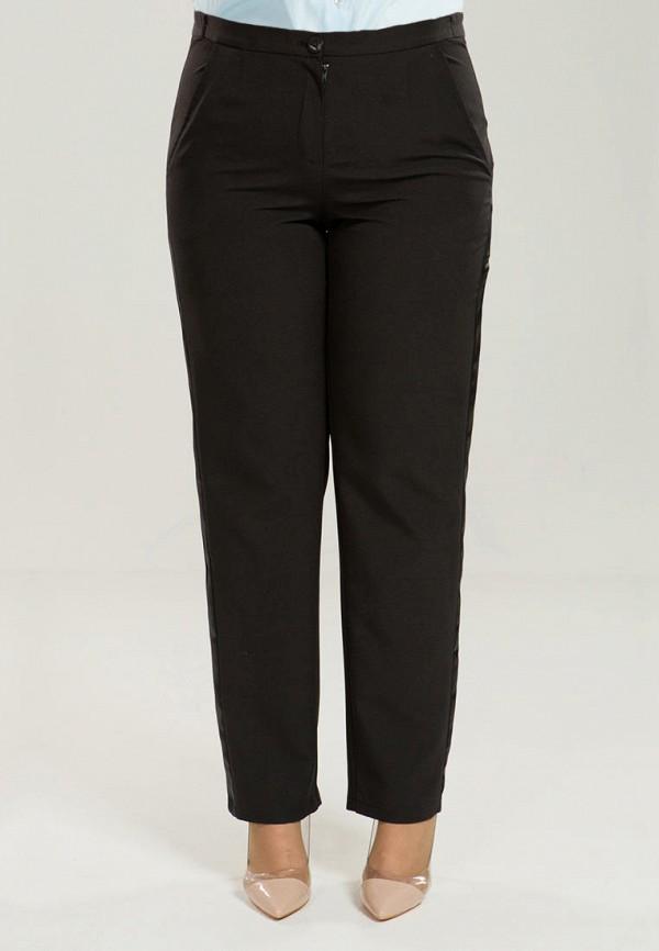 женские классические брюки luxury plus, черные