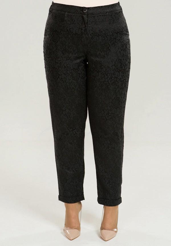женские повседневные брюки luxury plus, черные